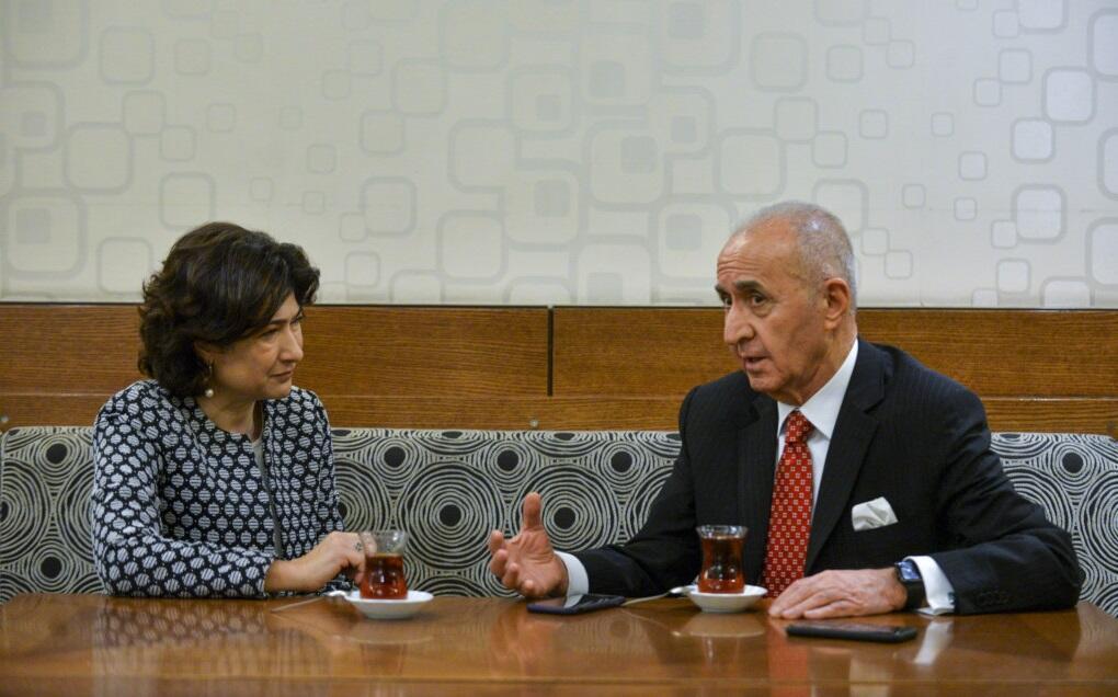 Hikmet Cetin interview