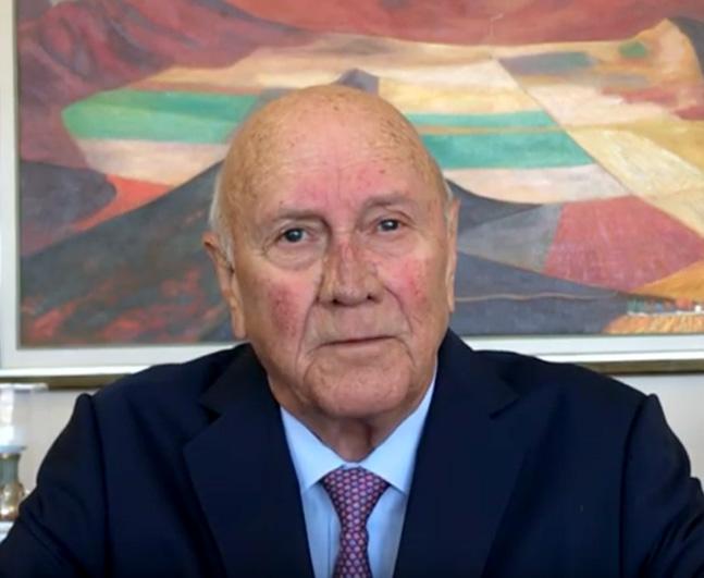 GLF Message from Chairman FW de Klerk